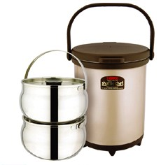 RPC-6000 thermal cooker with two 3L inner pots